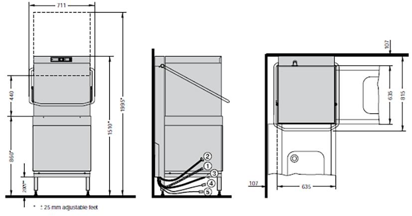 Схема AM900